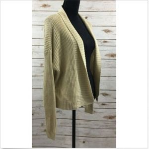 Free Press M Cardigan Sweater Open Front
